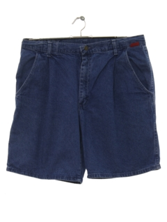 1980's Mens Totally 80s Denim Jeans Shorts
