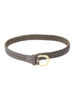 1990's Womens Accessories - Braided Leather Belt