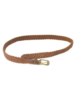 1990's Mens Accessories - Braided Leather Belt