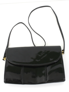 1960's Womens Accessories - Patent Leather Purse