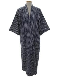 1980's Unisex Kimono Robe