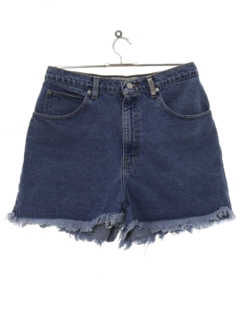 1980's Womens Cut Off Denim Shorts
