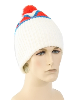 1980's Unisex Accessories - Totally 80s Knit Hat