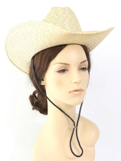 1980's Womens Accessories - Cowboy Hat