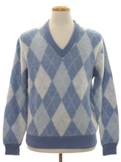 1960's Mens Mohair Sweater