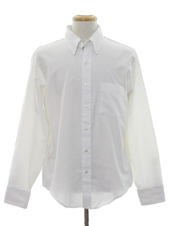 1980's Mens Preppy Shirt