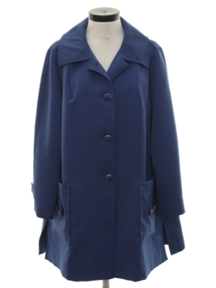 1960's Womens Overcoat Jacket