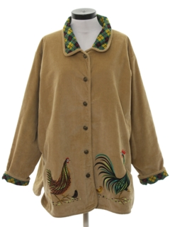 1980's Womens Corduroy Jacket