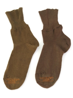 1940's Mens/Boys Accessories - Socks