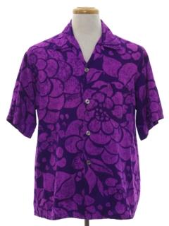 1960's Mens Hawaiian Shirt