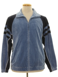 1980's Mens Velour Track Jacket