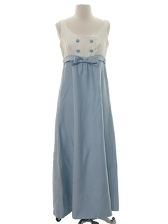 1970's Womens Prom Style Dress