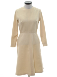 1960's Womens Mod Classic Dress