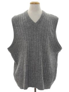 1990's Mens Knit Sweater Vest