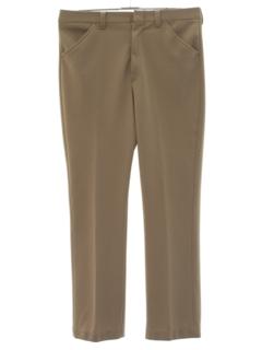 1970's Mens Disco Style Leisure Pants