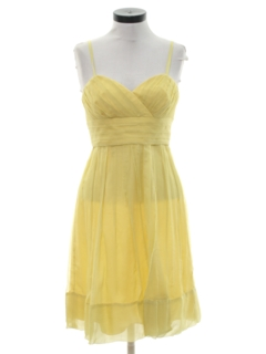 1990's Womens Mini Prom Or Cocktail Dress