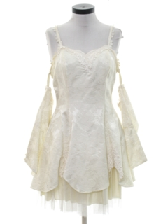 1980's Womens Mini Prom, Cocktail or Wedding Dress