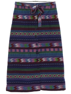 1970's Womens Hippie Skirt