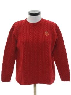 1980's Womens Preppy Sweater