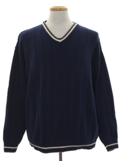 1980's Mens Preppy Sweater