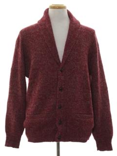 1980's Mens Cardigan Sweater