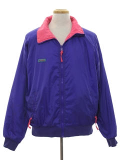 1990's Mens Totally 80s Style Reversible Ski Jacket