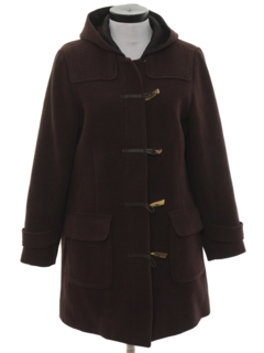 1990's Womens Wool Overcoat Jacket