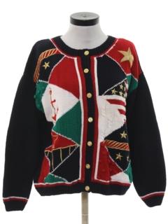 1990's Womens Kitschy Nautical Sweater