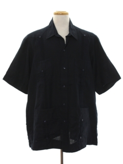 1990's Mens Guayabera Shirt