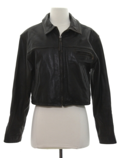 1990's Womens Leather Jacket