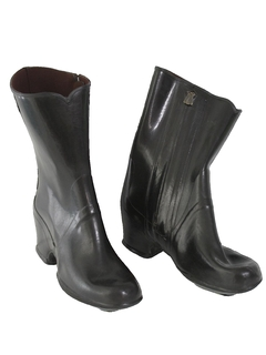 1970's Womens Accessories - Rubber Boots Shoes