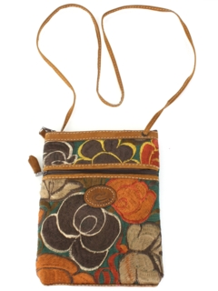 1990's Womens Accessories - Leather Hippie Purse