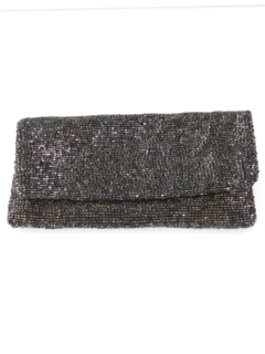 1990's Womens Accessories - Beaded Cocktail Clutch Purse