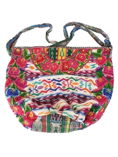 1990's Womens Accessories - Guatemalan Style Hippie Purse