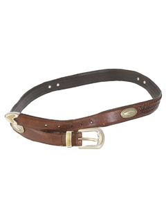 1990's Womens Accessories - Leather Belt