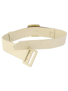 1960's Womens Accessories - Mod Leather Belt