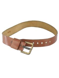 1980's Womens Accessories - Leather Belt