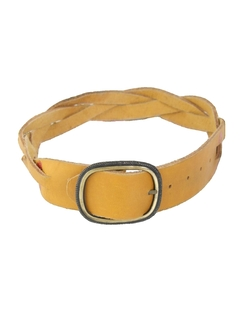 1980's Womens Accessories - Leather Hippie Belt