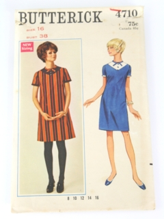 984453b61af Womens Vintage Butterick Patterns at RustyZipper.Com Vintage Clothing