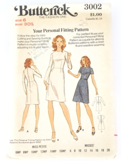 Womens Vintage Butterick Patterns at RustyZipper Com Vintage