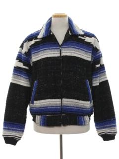 1990's Mens Southwestern Style Jacket