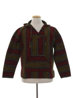 1990's Unisex Baja Hippie Jacket
