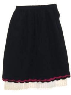 1970's Womens Hippie Skirt