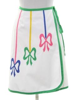 1980's Womens Mod Skirt
