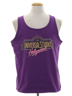 1980's Unisex Totally 80s Tank Top T-shirt
