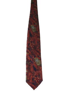 1970's Mens Christmas Necktie