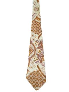 1960's Mens Mod Necktie