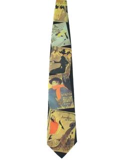 1990's Mens Designer Necktie