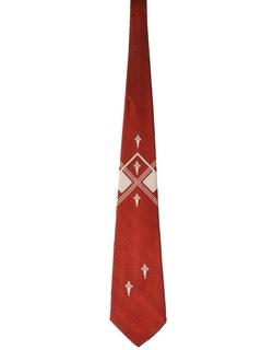 1950's Mens Swing Necktie