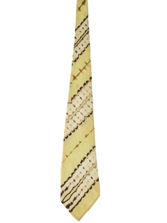 1940's Mens Abstract Swing Necktie